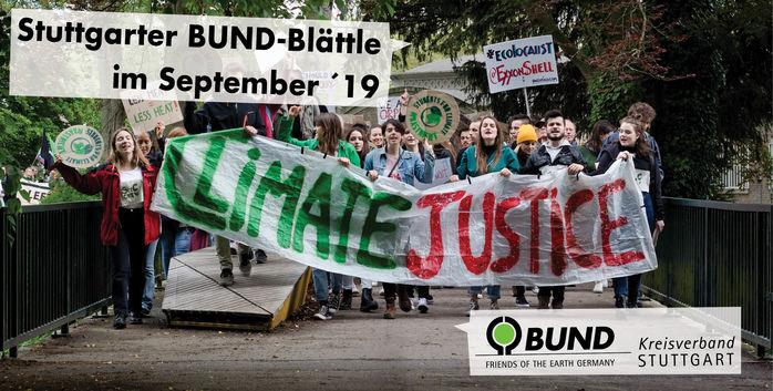 Sondernewsletter September 2019 - BUND KV Stuttgart