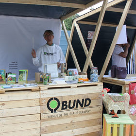 Messestand - BUND Kreisverband Stuttgart