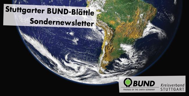 Sondernewsletter - BUND KV Stuttgart