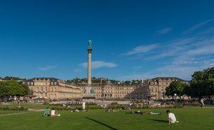 Stuttgart Schlossplatz - BUND KV Stuttgart/ Bild: pixabay.de