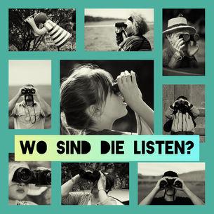 Plakat wo sind die Listen? - BUND KV Stuttgart