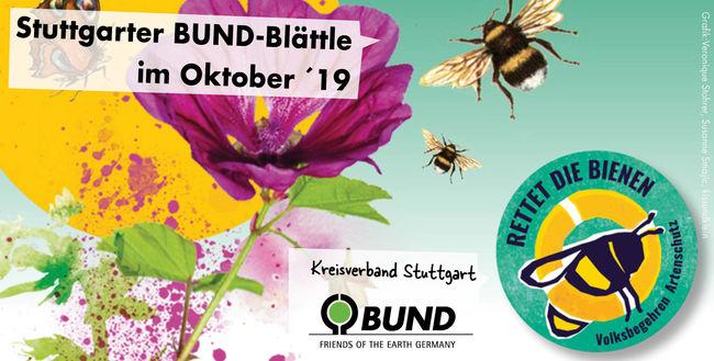 Stuttgarter BUND-Blättle OKtober 2019 - BUND KV Stuttgart